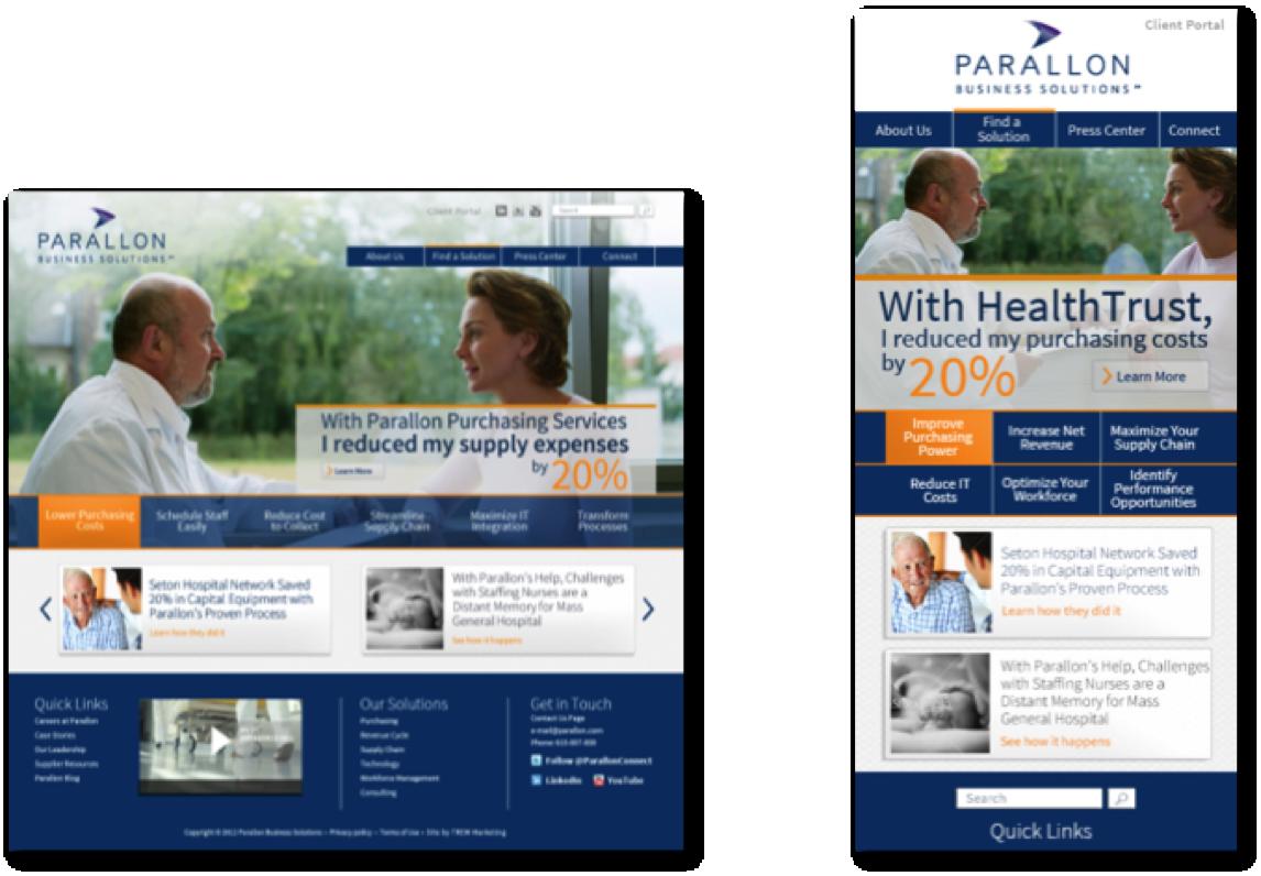 Parillion website