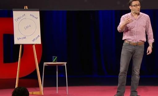 Simon Sinek, author of Leaders Eat Last