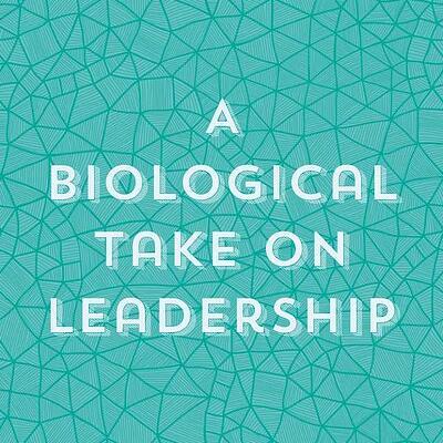 A biological take on leadership.