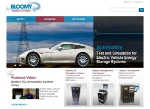 Bloomy Energy Microsite