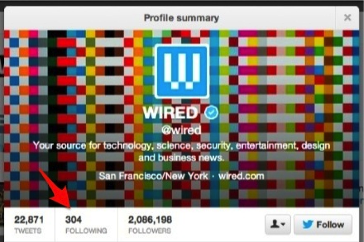 Wired Twitter Account