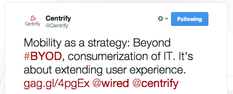 Companies tweeted thought-provoking opinions and re-tweet shares that peaked interested and drove traffic.