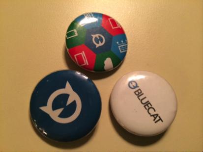 Fun buttons from Bluecat