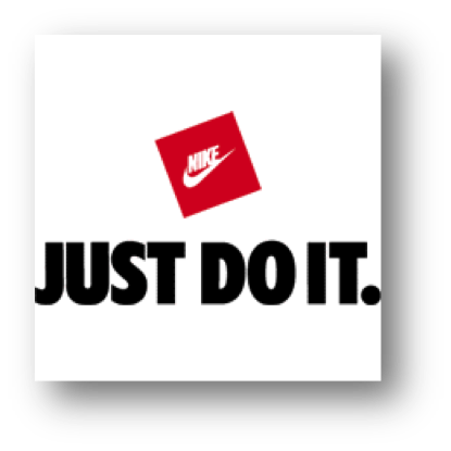 Nike's tagline is instantly recognizable