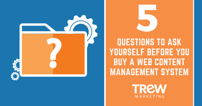 5 Questions to Ask Yourself Before you Buy A Web Content Management System