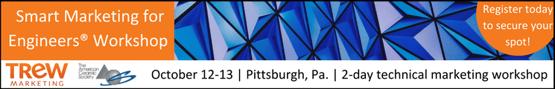 Smart Marketing for Engineers Workshop October 12-13, 2017