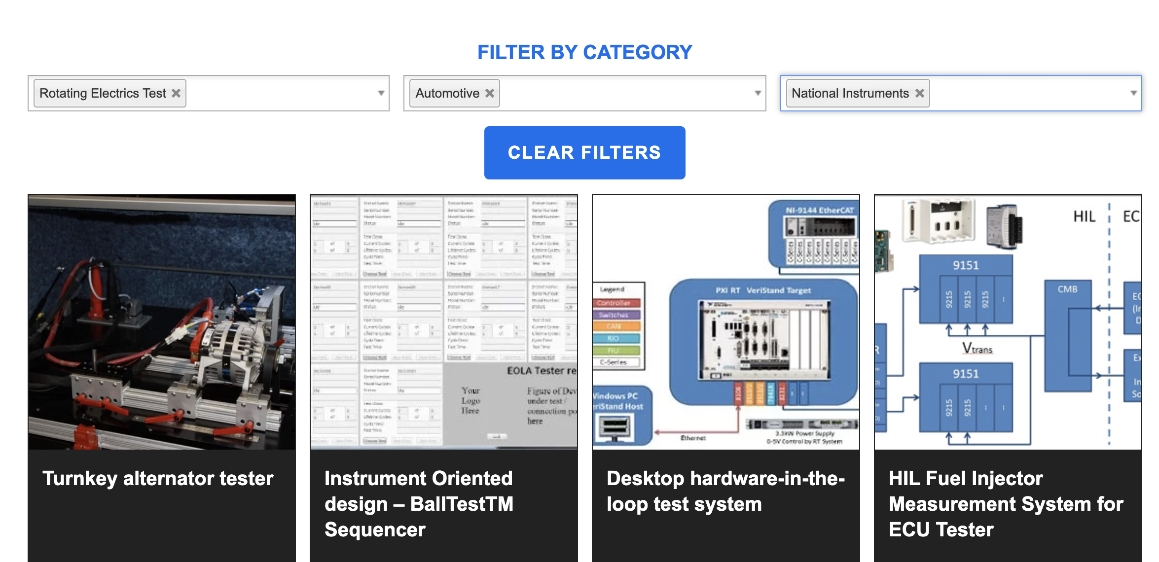 Advanced filtered resources gallery Ball Systems