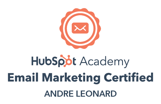 Andre - Email Marketing certification