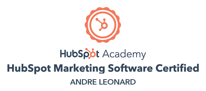Andre - HubSpot Marketing Software certification