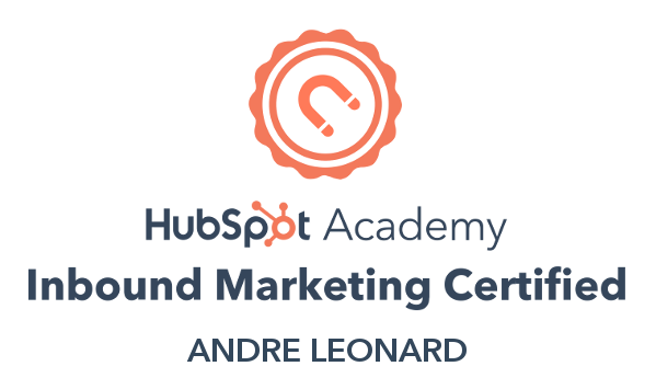 Andre - Inbound Marketing certification
