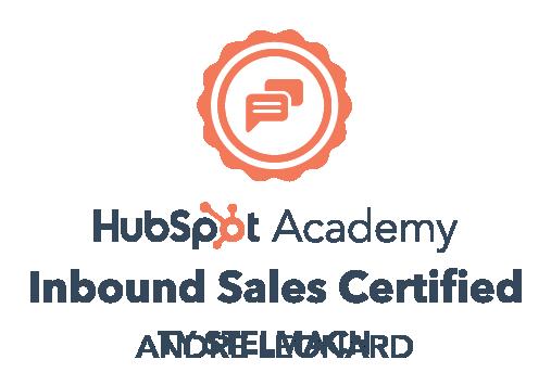 Andre - Inbound Sales certification