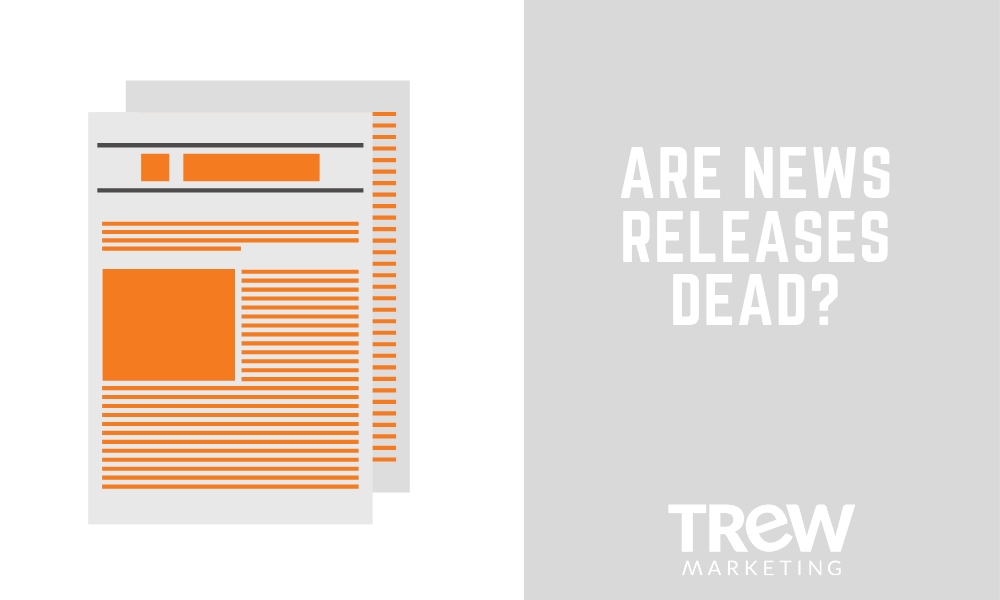 Are News Releases Dead?