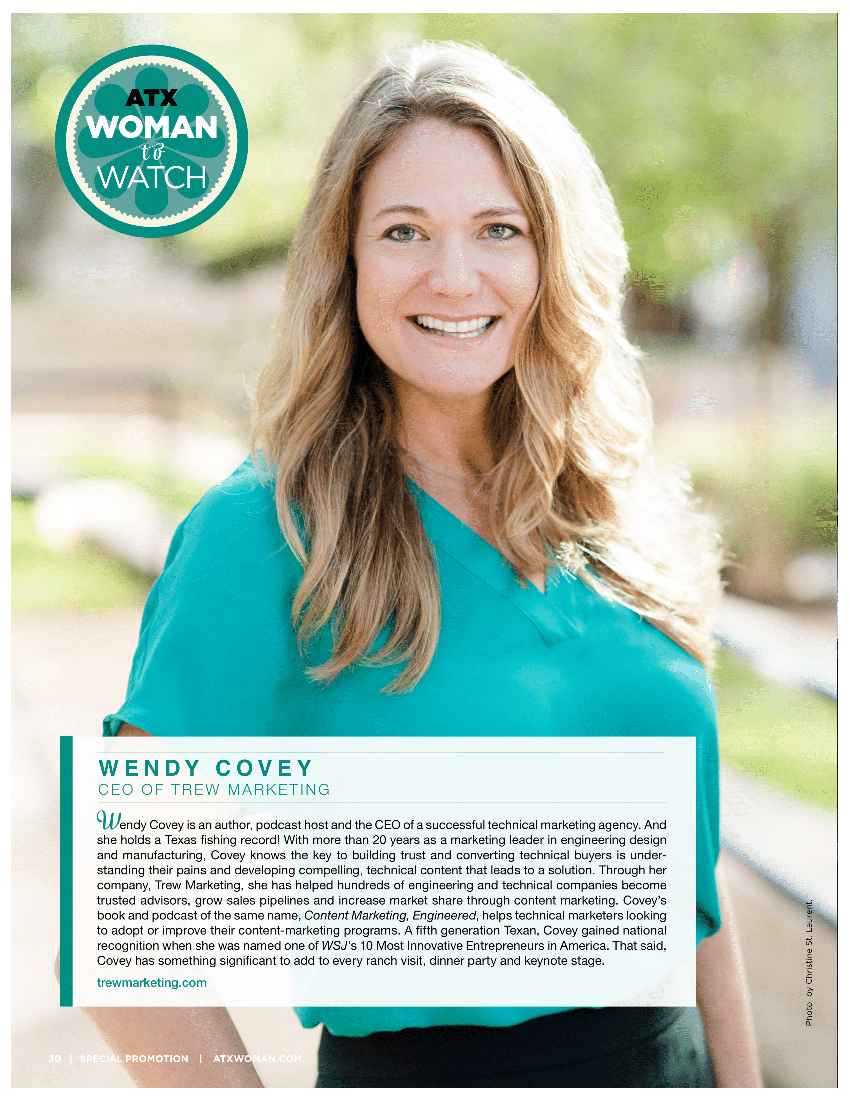 Austin Woman Wendy Covey Feature Woman to Watch (1)-1