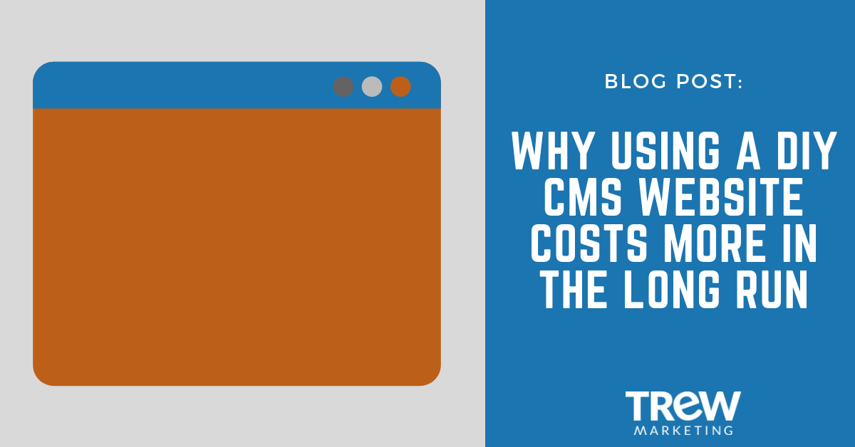 DIY website costs you in the long run