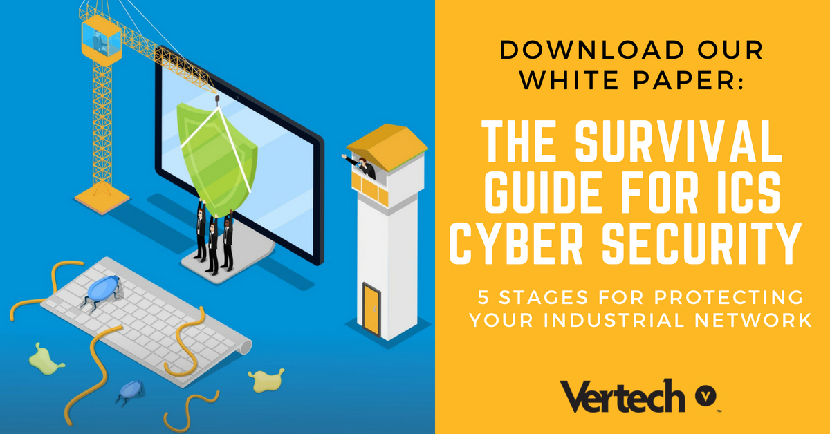 Vertech ICS Cyber Security Guide CTA