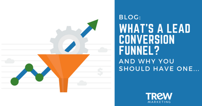 What's a lead conversion funnel blog post