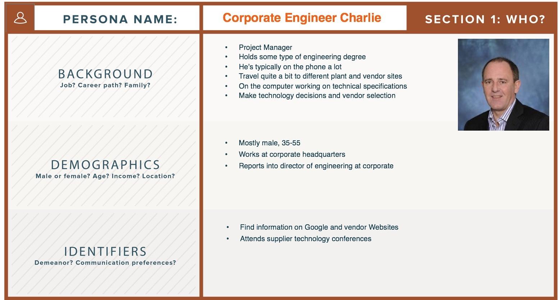 corporate engineer charlie