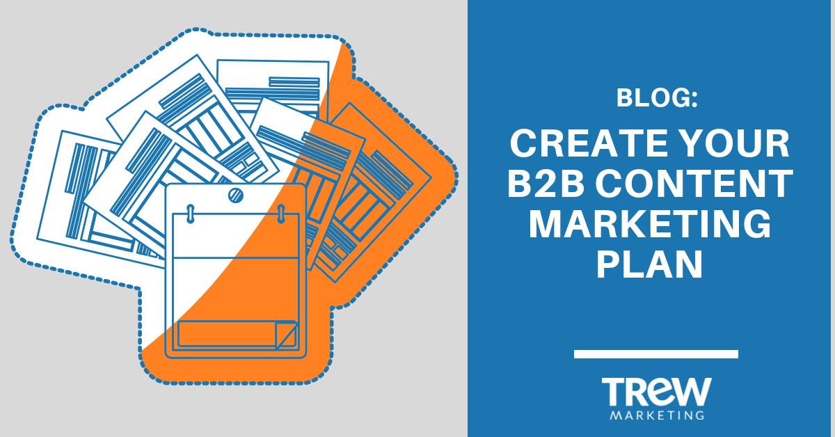 create your b2b content marketing plan