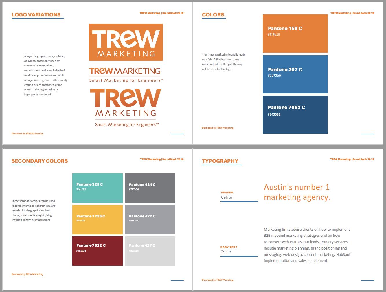 Brand Marketing Visual Branding Section