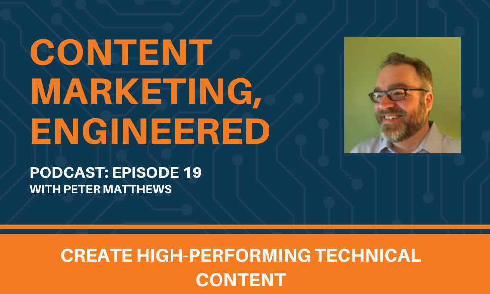 Content, Marketing Engineered Podcast Episode 19 Graphic.