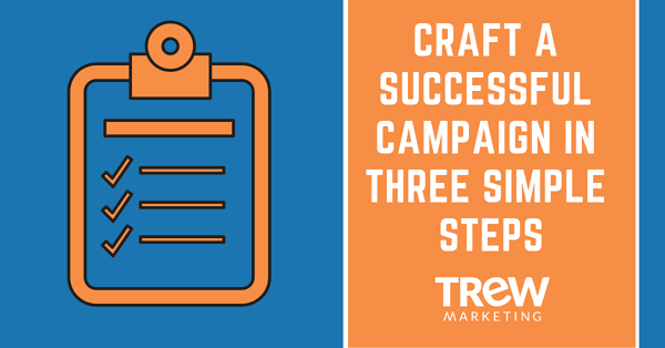 Craft a Successful Campaign in Three Simple Steps