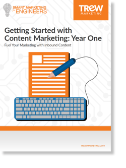 Getting Started with Content Marketing: Year One cover