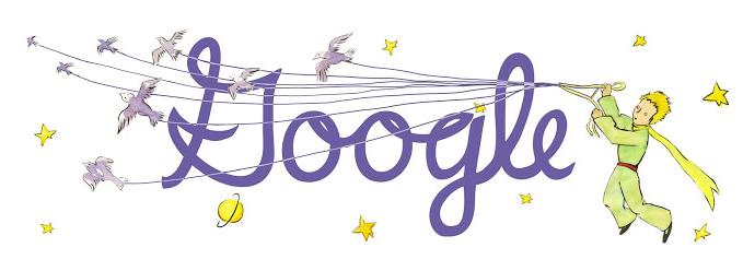 The Little Prince Google Doodle