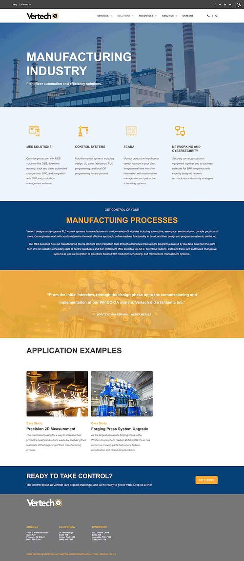 Vertech-Manufacturing-Page