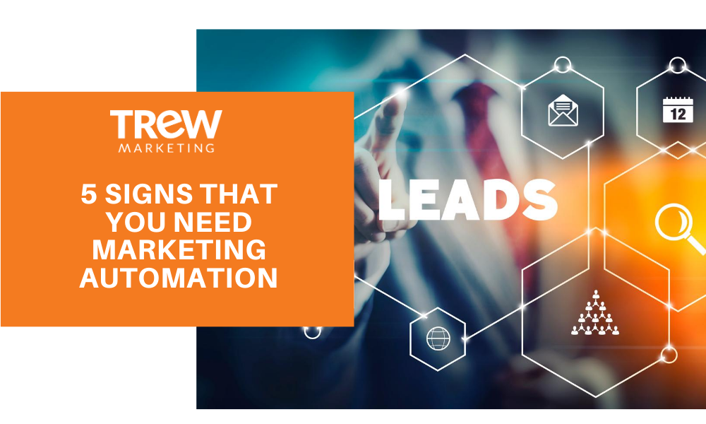 marketing automation 5 signs