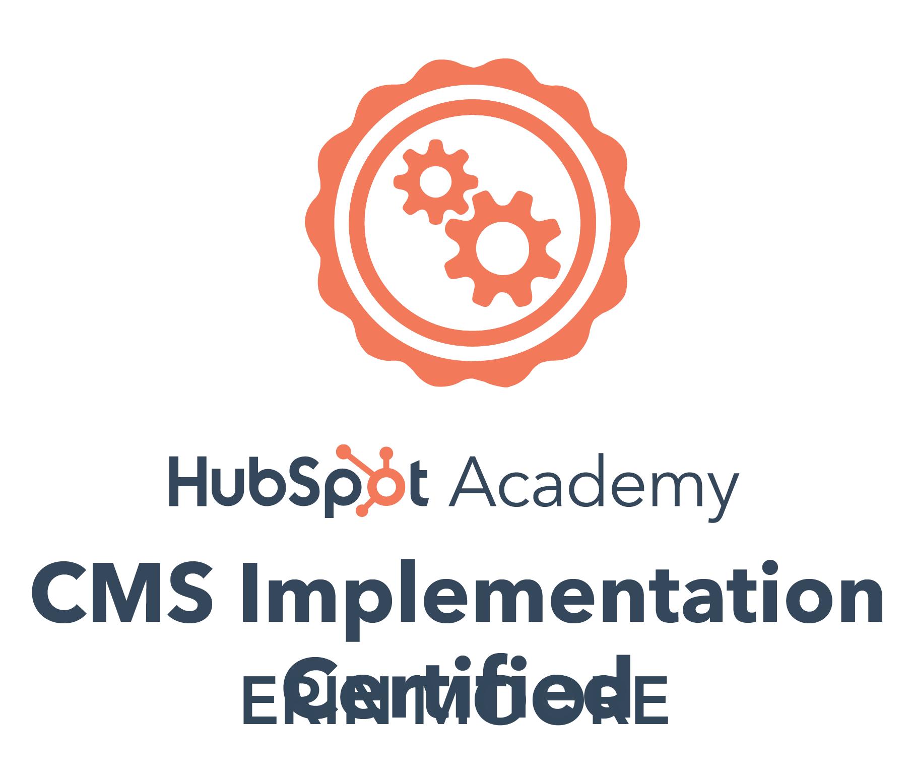 CMS implementation- EM