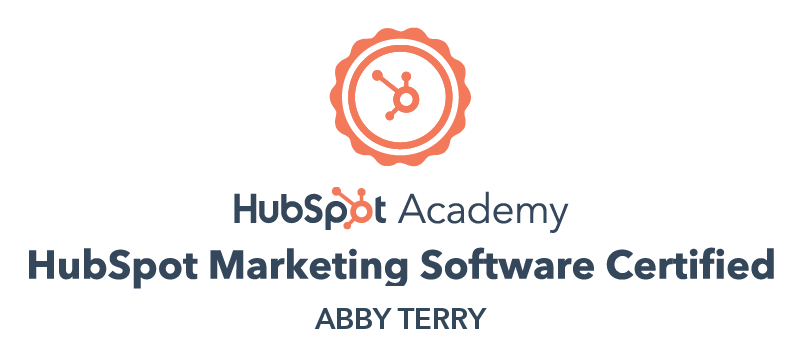 HubSpot Marketing Software Abby Terry