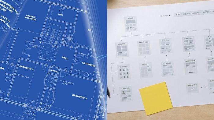 Develop web plans