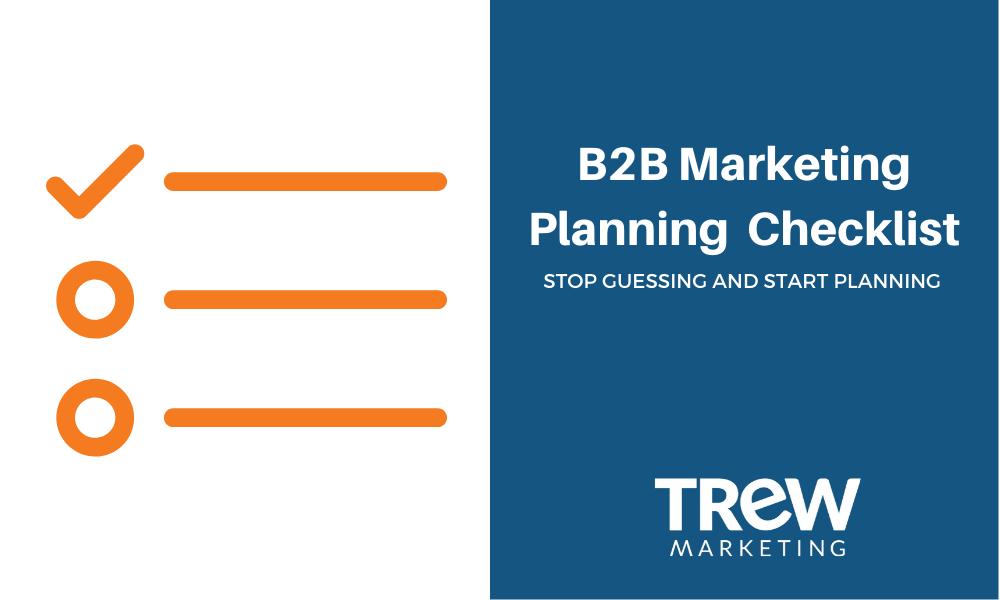 Marketing Planing Checklist Blog 2019