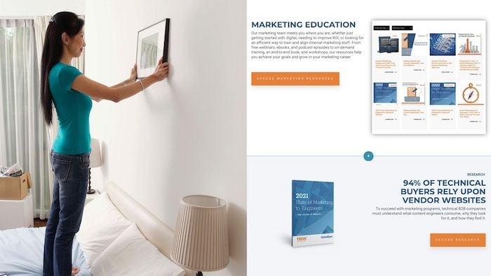 continued web design