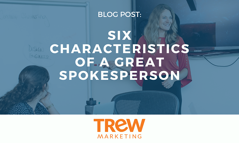 6 characteristcs of a greta spokesperson