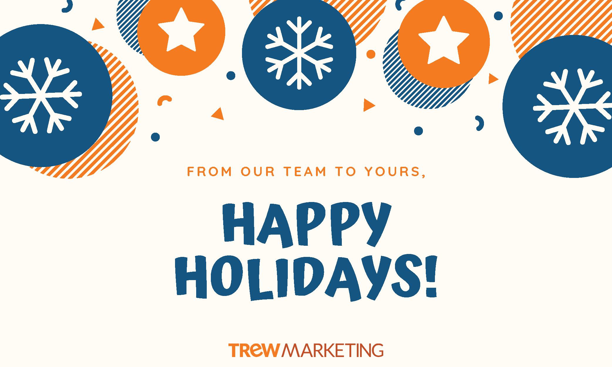 Holidays Social media graphic