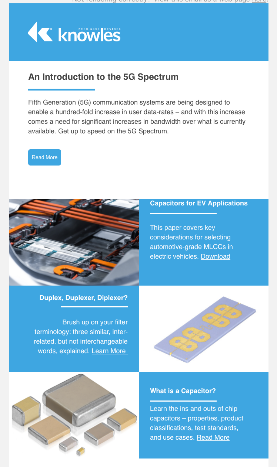 Newsletter Example
