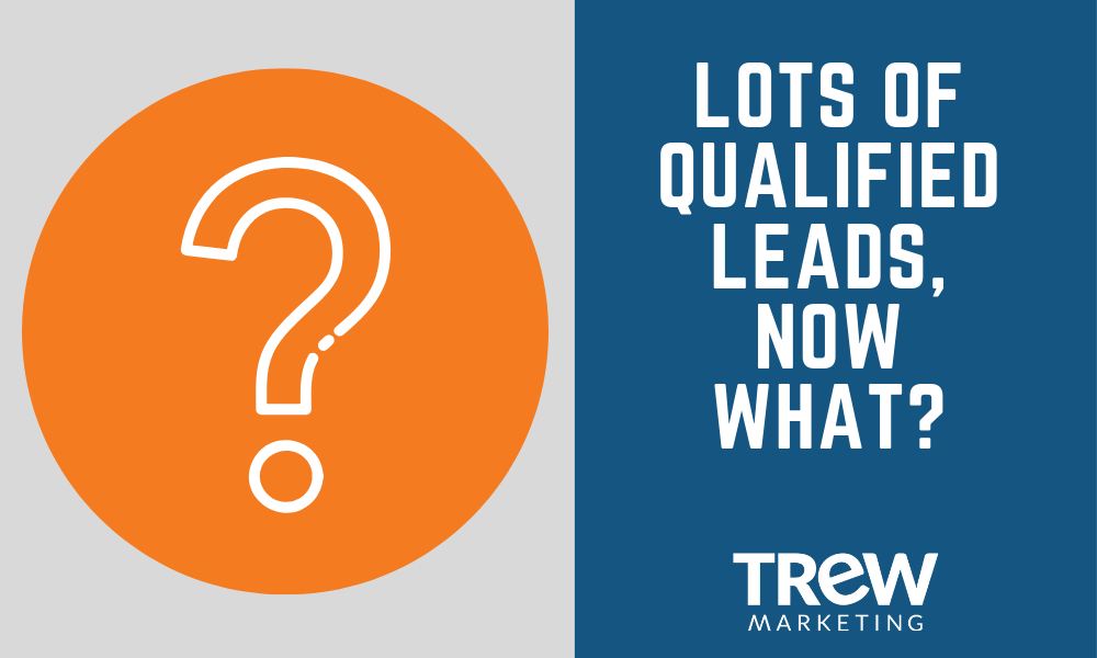 Lots of Qualified Leads, Now What