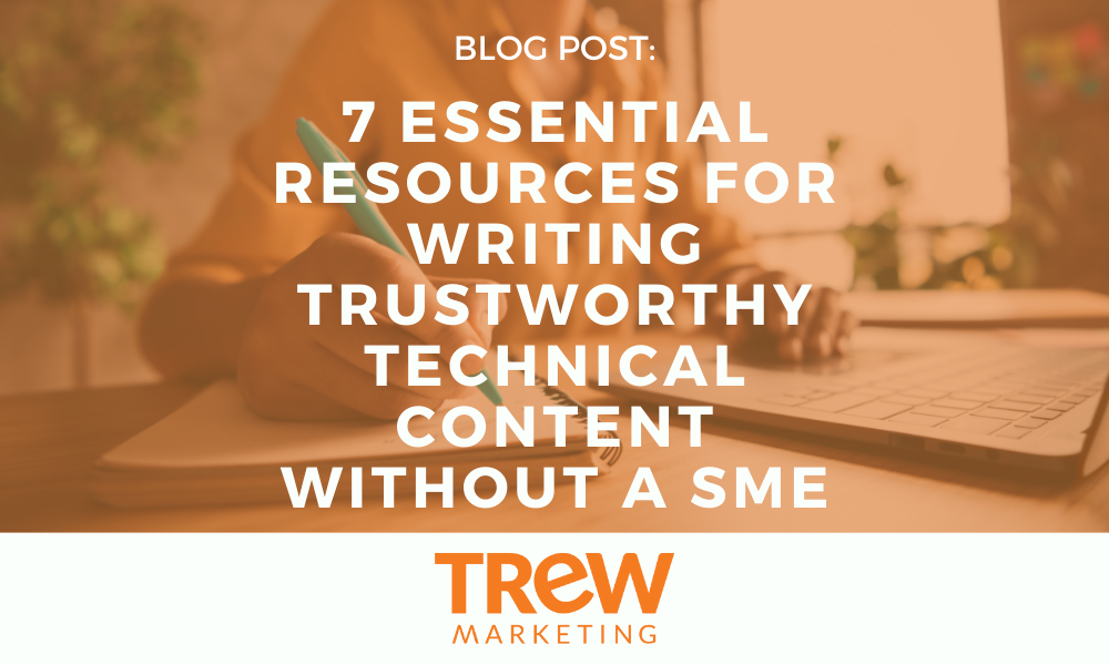 Writing Content without a SME - Cover