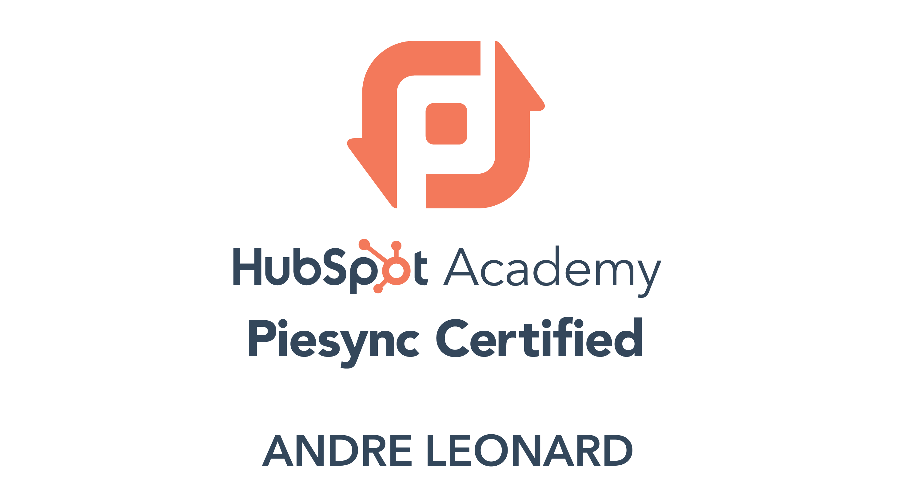 PieSync Certification Badge