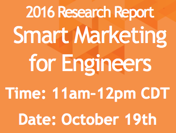 Live Webinar: Smart Marketing for Engineers-Marketing and Selling Through the Buyer's Journey