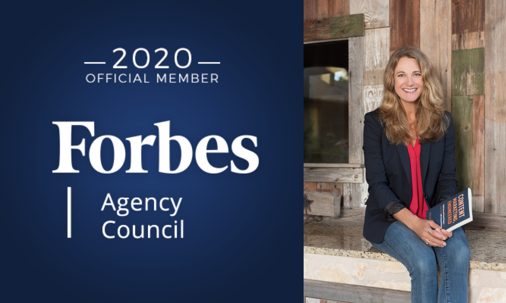 Wendy Covey, TREW Marketing CEO and Content Marketing, Engineered author and podcaster named Forbes Agency Council member.