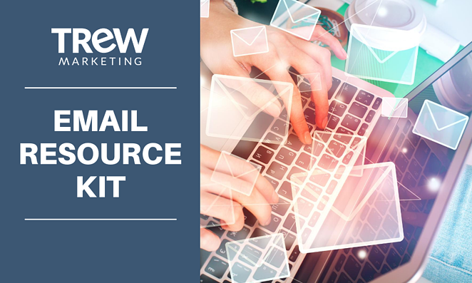 TREW Marketing. Email Resource Kit Graphic.