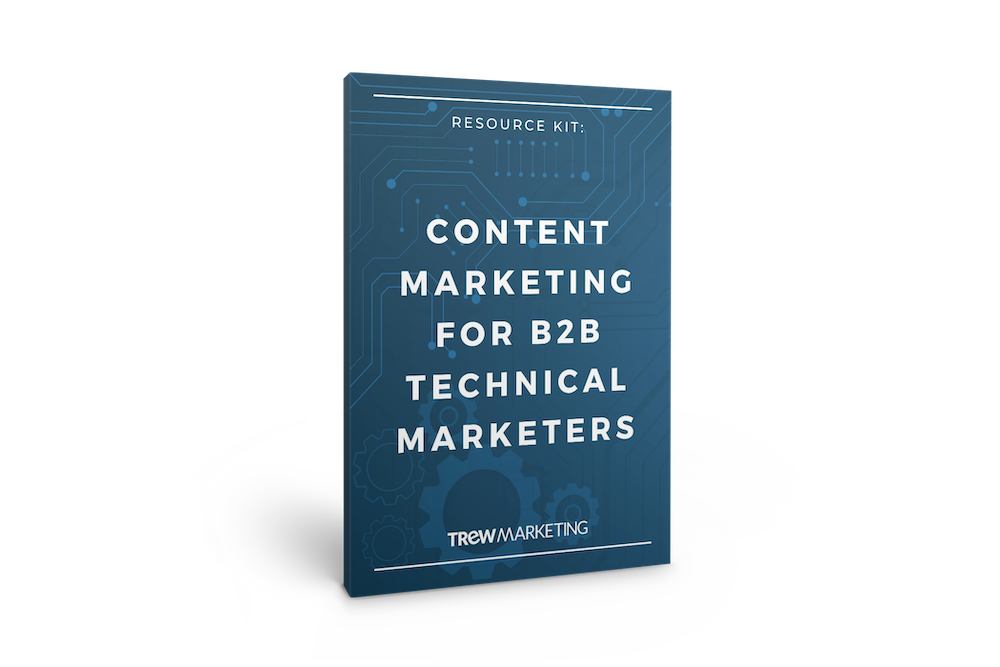Kit cover - Content Marketing for B2B Technical Marketers