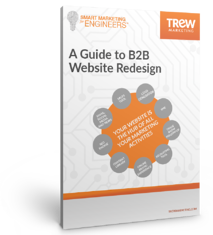 ebook cover - A Guide to B2B Website Redesign