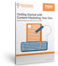 ebook cover - Getting Started with Content Marketing Year One-1