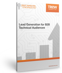 ebook cover - Lead Generation for B2B Technical Audiences