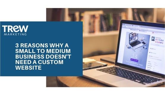template vs custom site
